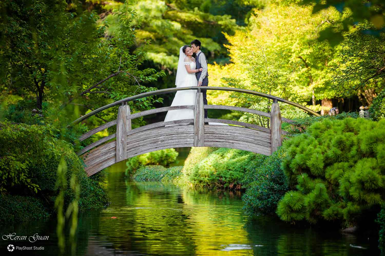 Anna Wang – Fort Worth Japanese Gardens Engagement