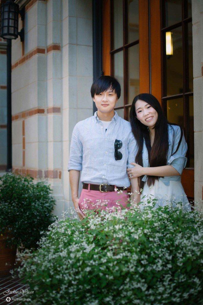 Rice-University-Engagement-Houston-Engagement-Photographer-Jackie Yuan - PlayShoot Studio