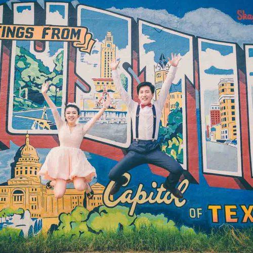 capital building engagement photo Austin TX